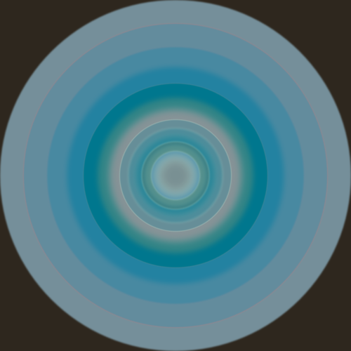 Circles Metallic 3